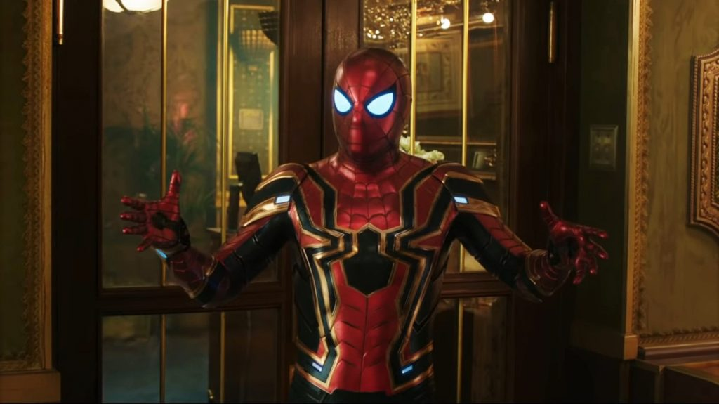 Spider-Man in Iron Spider suit