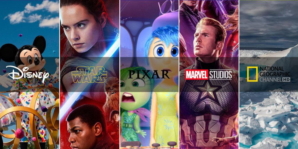 Disney / Star Wars / Pixar / Marvel Studios / National Geographic Channel