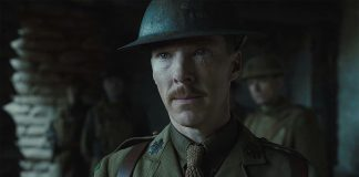 "Benedict Cumberbatch in ""1917"" movie trailer"