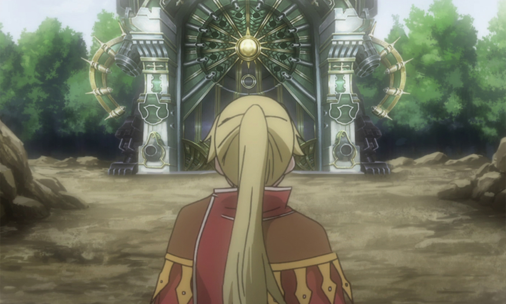 Anna at the Eclipse Gate in Fairy Tail Manga series