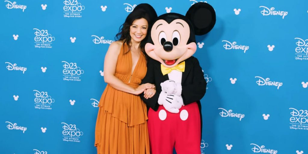 Ming Na Wen at D23 Expo, Disney Legend