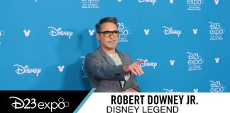 Robert Downey Jr. at D23 Expo, Disney Legend RDJ