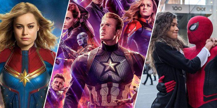 Highest grossing Marvel Movies